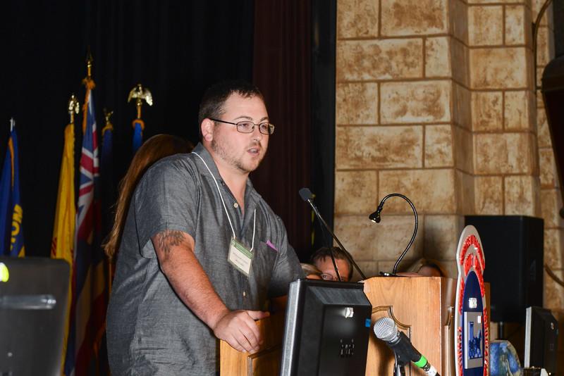 Nick Claudel, Hero Award, Wednesday Morning Session 091430.jpg