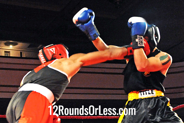 Bout #2 Sir-William Cofield, Raul Torres, Cleveland -vs- Moe Bodair, West Side BC, Cleveland