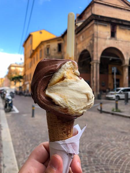 Gelato in Bologna