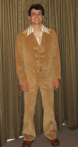 Corduroy 3 pc suit