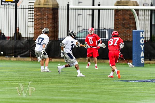 Georgetown Hoyas vs. Marist Men's Lacrosse 3-6-18