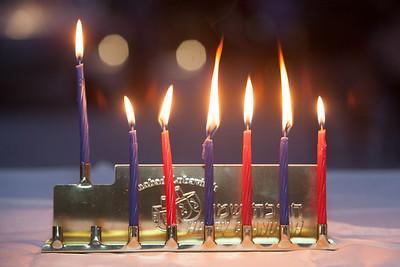 Chanukah- Lighting - November 2, 2013