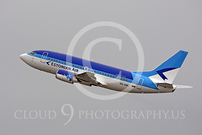 Estonian Air Boeing 737 Airliner Pictures