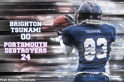 Brighton Tsunami 00-24 Portsmouth Destroyers (£2 Single Downloads. £8 Gallery Download. Prints from £3.50)