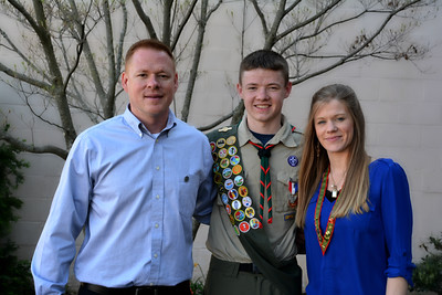 Eagle Scouts Ceremony 2016