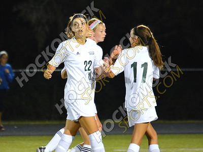 Canton-Mansfield girls soccer 9-9-14