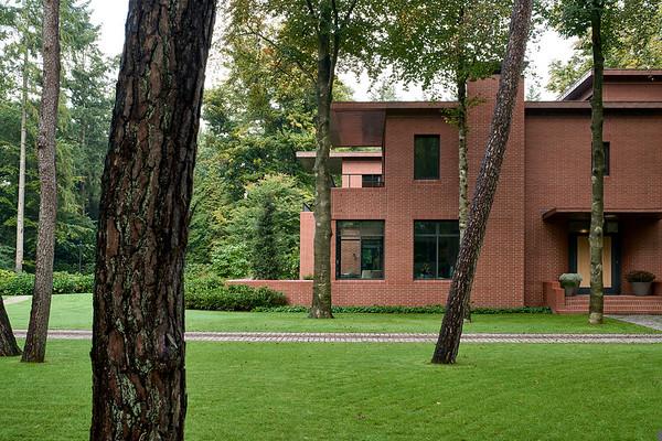 Villa A. Artesk van Royen architecten.