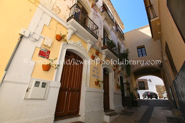 MELILLA (Spain). Synagogues, former, in Melilla Vieja (Old Melilla) (8.2015)