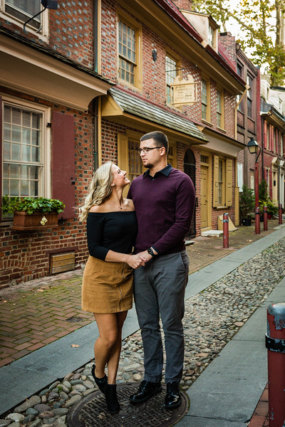 MICHELLE AND NICK - OLD CITY ENGAGEMENT SESSION - 26.jpg