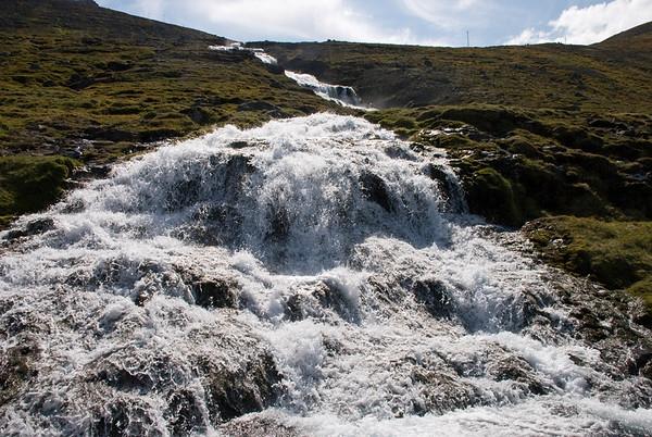Engidalur - Fossavatn - Þóruskarðshjallar