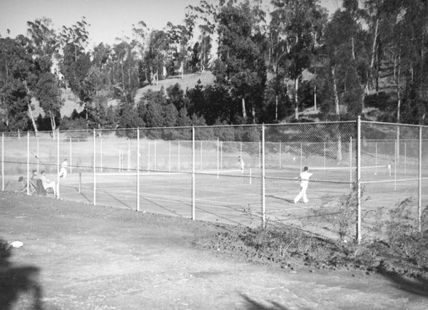 1937, Tennis Courts