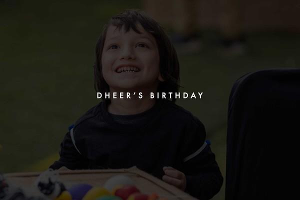 Dheer's Birthday