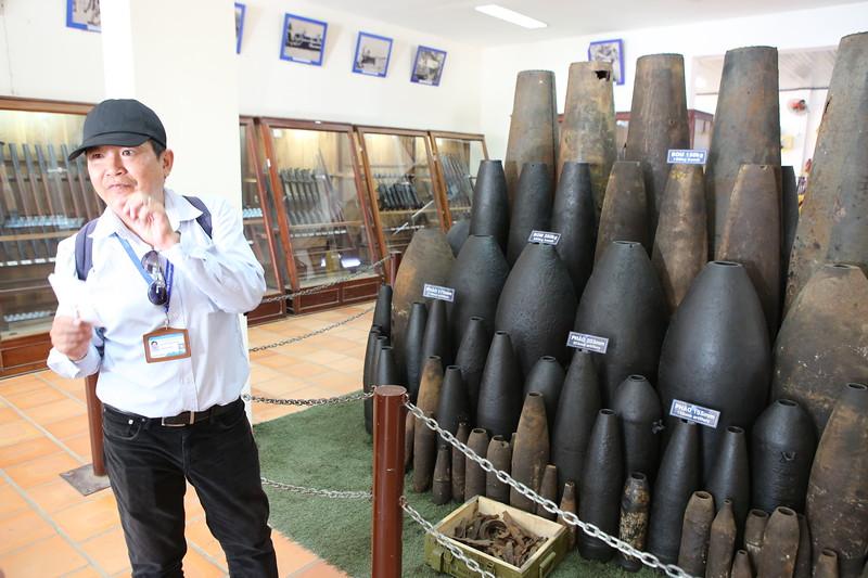 Guided Tour of Vietnam War Museum