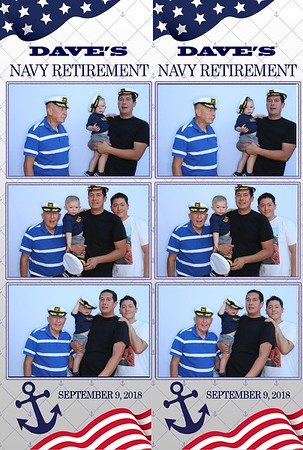 Dave's Navy Retirement Party