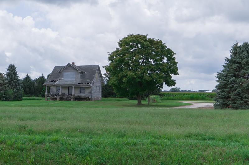 Illinois Home In Ruin