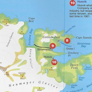 Shackleton hike & Stromness Harbour