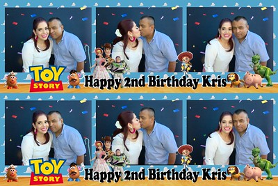 Kris' 2nd Birthday with Toy Story