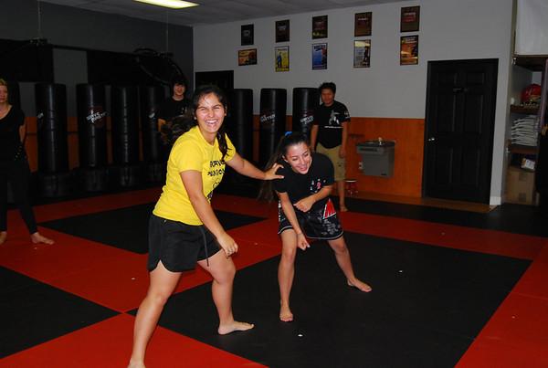 Self - defense seminar 032214