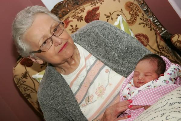 Mattie and grandma first meet