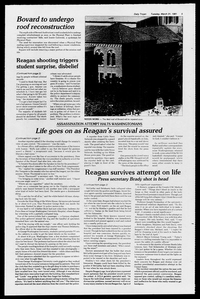 Daily Trojan, Vol. 90, No. 37, March 31, 1981