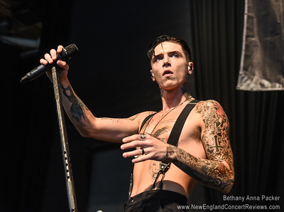 Andy Black at Vans Warped Tour - Mansfield, MA