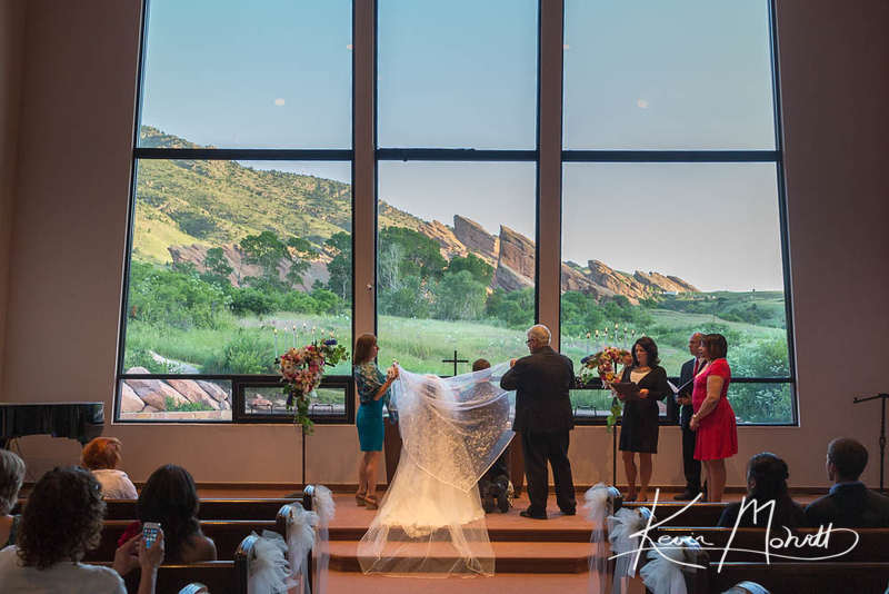 Red Rocks Chapel Sunrise Wedding