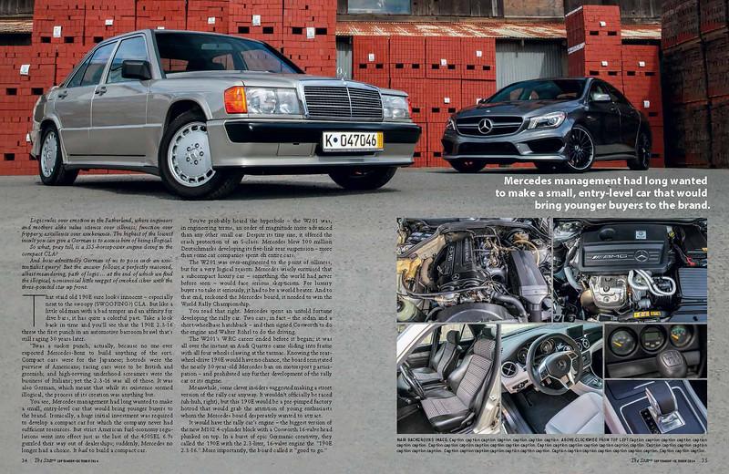 The Star - Mercedes 190 story.  Sept 2014