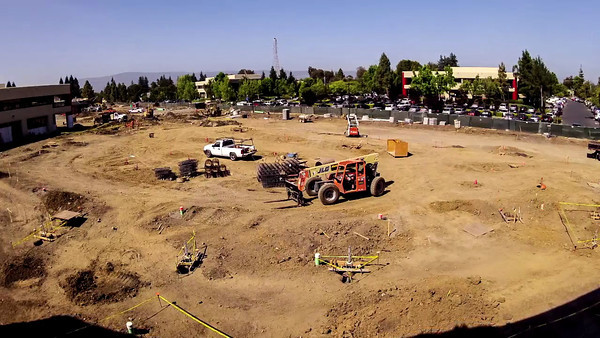 Construction at Intuit - Timelapse