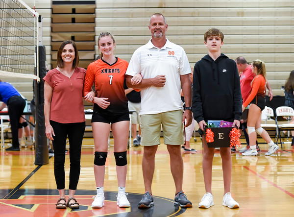 North Davidson vs Ledford Volleyball 2021