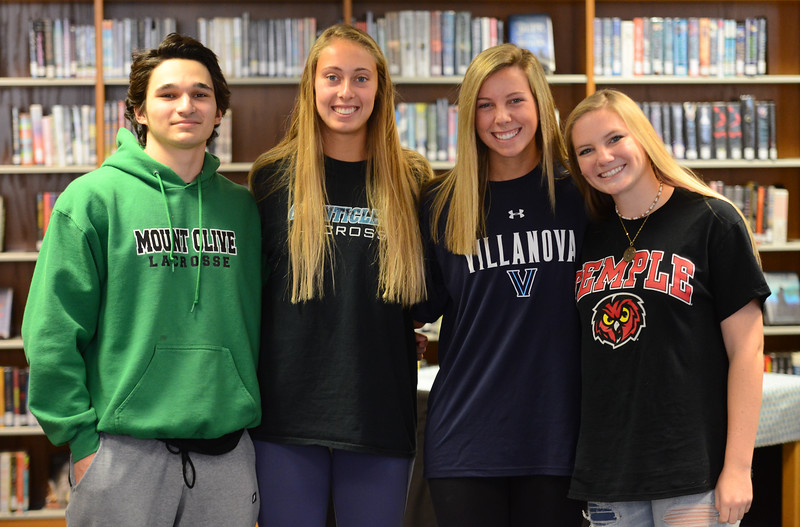 2018 Fall National Letter of Intent Signing