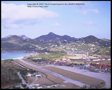 St. Barth Airport, 2001