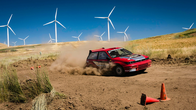 Oregon Rally Group at Eddieville 7/8/17