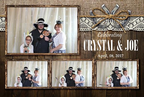 04-08-17 CRYSTAL AND JOE WEDDING