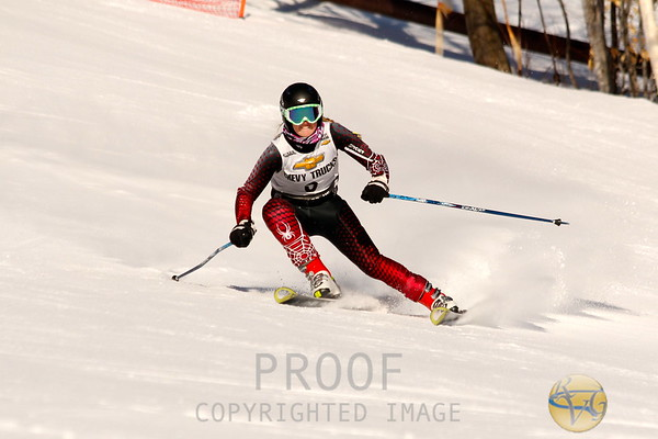 KVAC-MVC Girls Giant Slalom Championship