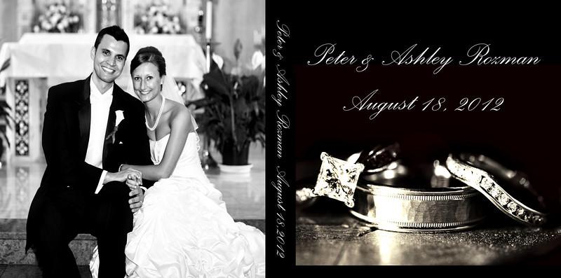 Ashley & Peter 12x12 Tuscany Wedding Album