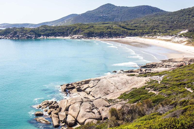 sapphire coast australia beach