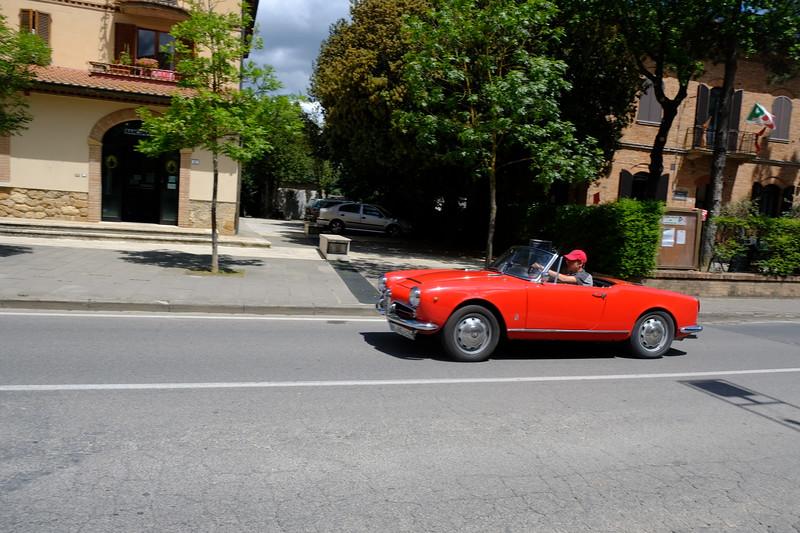 Car Show in Pienza
