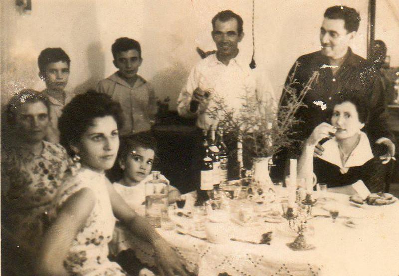 Familia Lopes e casal Pacheco