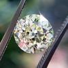 2.13ct Old European Cut Diamond , GIA Q/R VS2 12