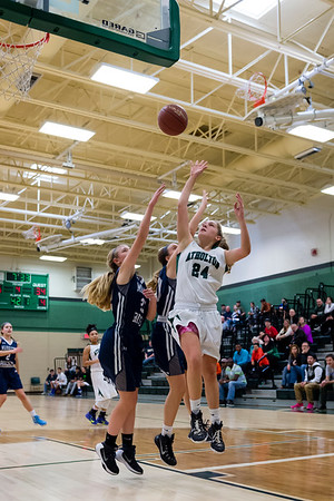 2/20/16 - Atholton Girls Varsity Basketball vs Marriotts Ridge