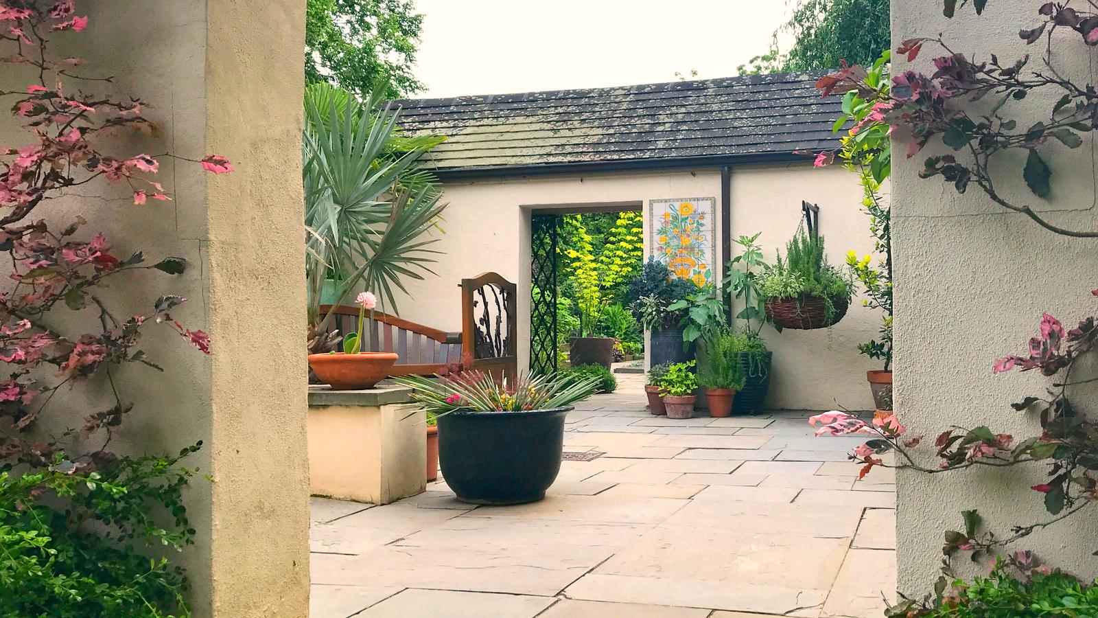 精致的花园,用心的设计