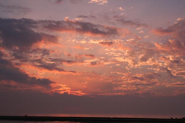 Day 11: Saugeen Shores Sunset - 6 October 2007