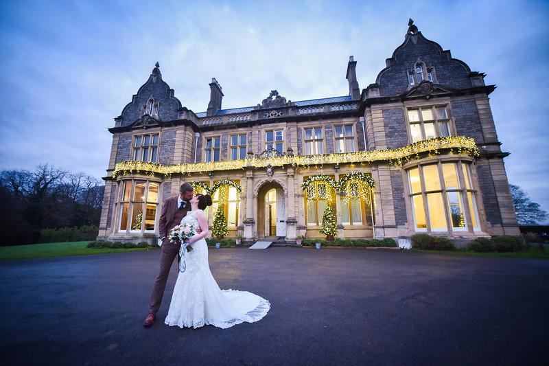 Stephanie & Richards Wedding Day Clevedon Hall Somerset