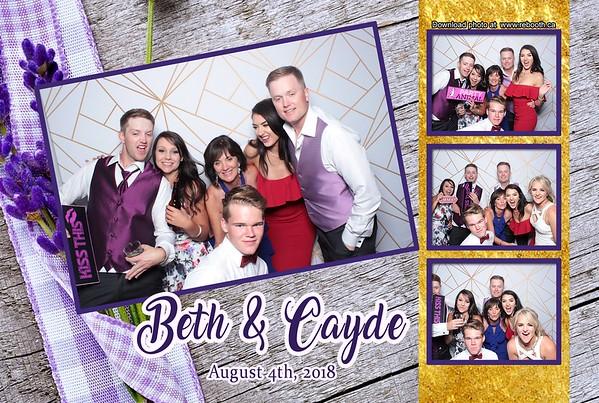Beth & Cayde Wedding