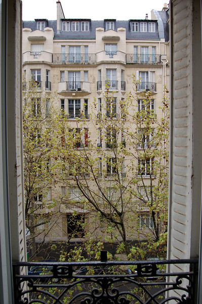 View from hotel room - Paris