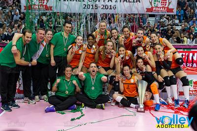 Premiazioni Coppa Italia A2F