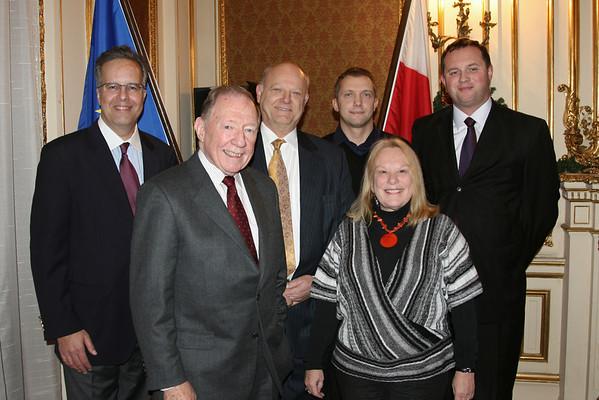 Dec 2, 2008 Polish Consulate, Lecture by Professor Leszek Balcerowicz