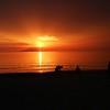 Sunset Fisherman Trio