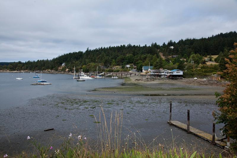 Eastsound Harbor on Orcas Island