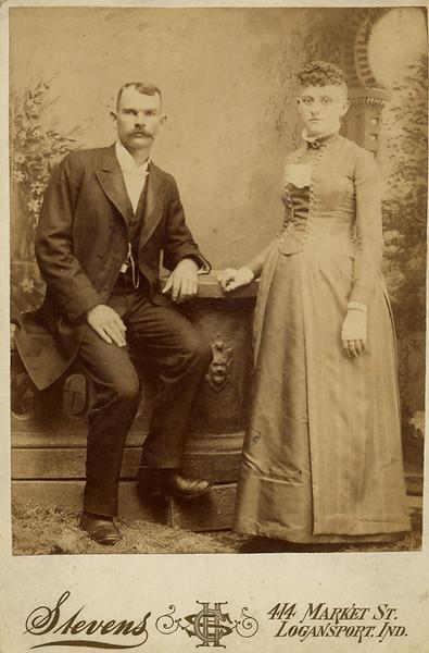 "George W. Dodrill and wife Elizabeth Jane ""Jennie"" Foust Dodrill  Grandpa Dodrill's parents."
